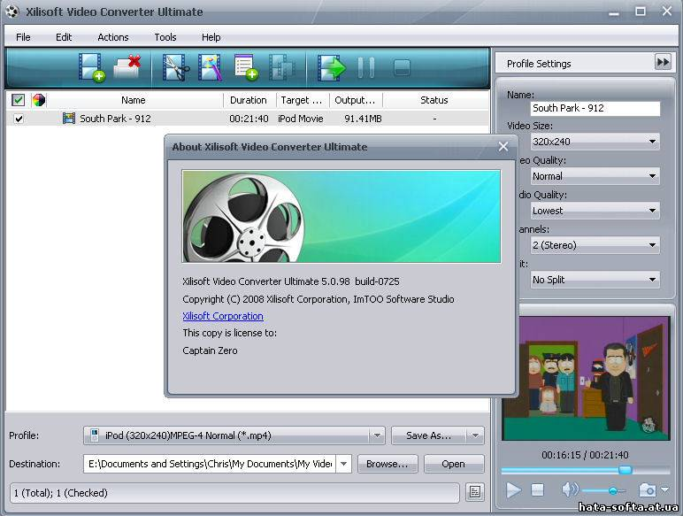 xilisoft video converter ultimate 7.7.3 keygen